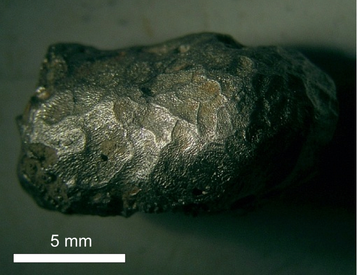 Iron silicide particle regmaglypts regmaglyptic surface Chiemgau impact
