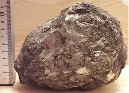 LPSC 2019 eight kilogram iron silicide hapkeite Chiemgau Impact